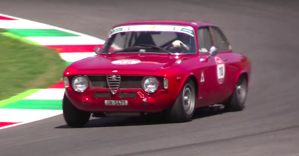 Watch Your Favorite Vintage Exotics Go All-Out on Track