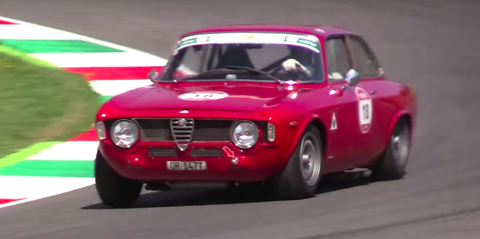 Land vehicle, Vehicle, Car, Classic car, Alfa romeo 105 series coupes, Regularity rally, Alfa romeo, Coupé, Sedan, Alfa romeo gta,