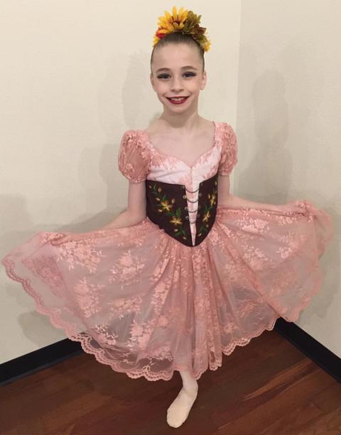 Clothing, Pink, Costume, Ballet tutu, Dress, Dance, Costume design, Child, Dancer, Event,