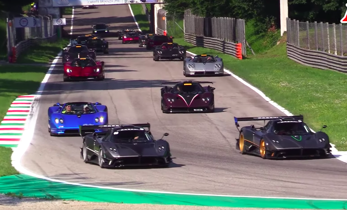 Bless Your Ears With the Sound of Over 40 Paganis
