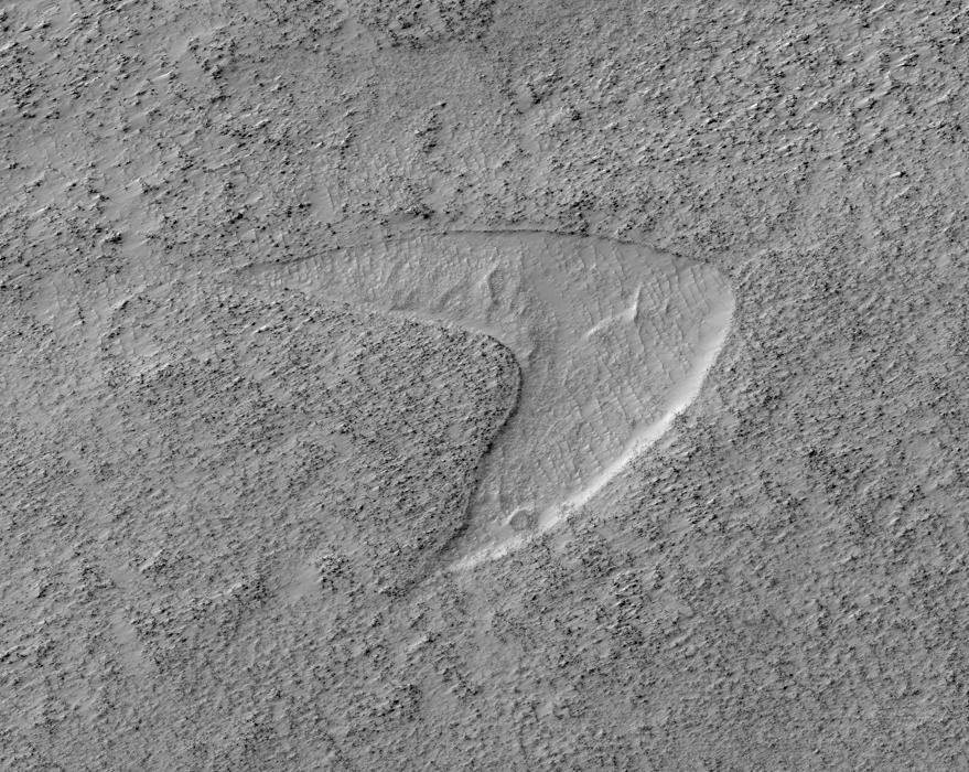 The Star Trek Logo Was Found on Mars. Really.