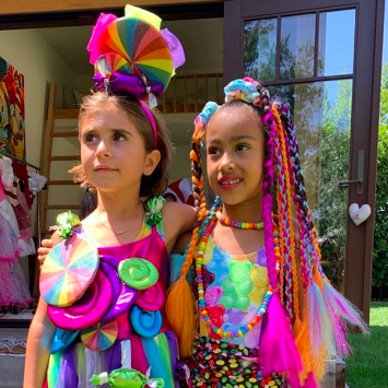 Penelope Disick and North West
