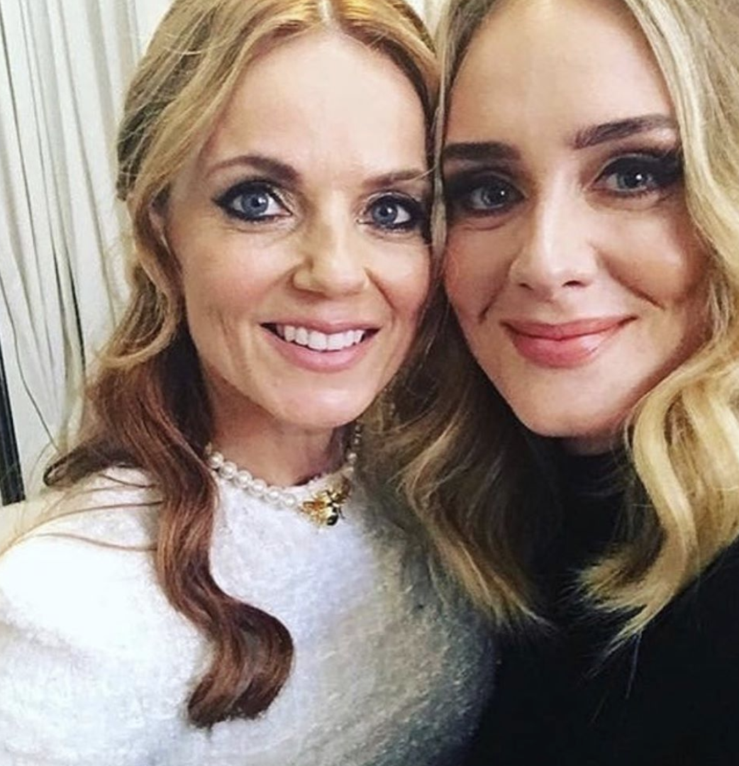 Adele Got Extremely Drunk With The Spice Girls This Weekend