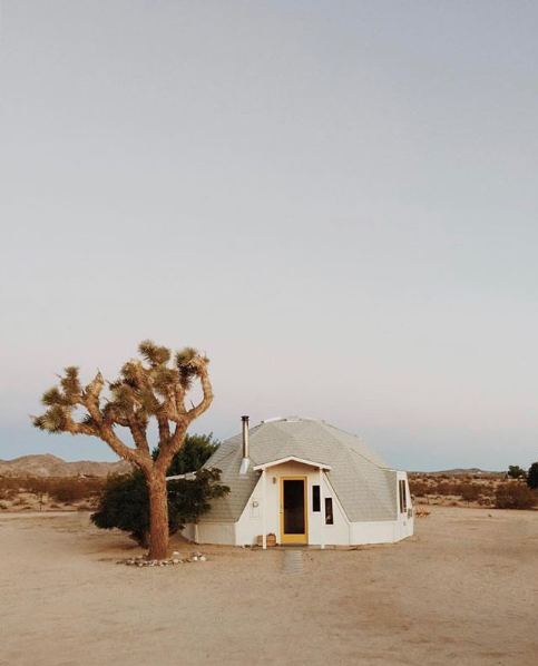 You'll Want to Stay in This Magical Desert Dome the Next Time You're in Joshua Tree