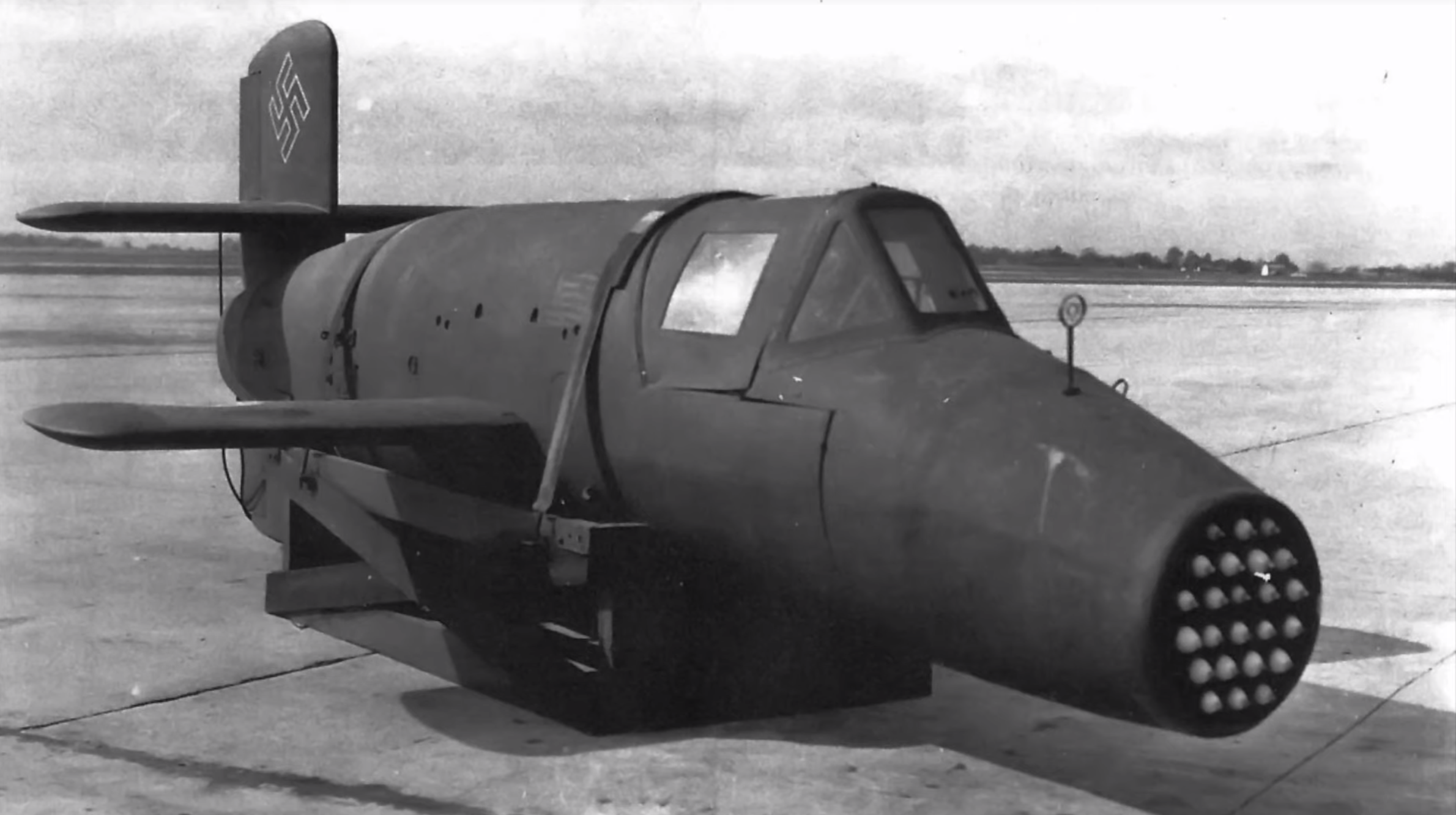Meet 'The Natter,' Nazi Germany's Wooden Rocket Plane