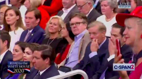 Do Lindsey Graham and Marco Rubio Look Comfortable in Their Seats on the Trump Train?