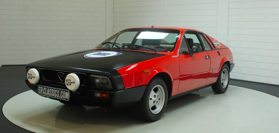 This Lancia Montecarlo Can Be Your Rally-Inspired Summer Fling