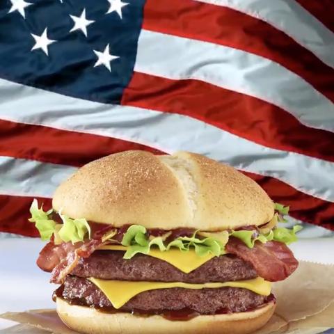 Hamburger, Food, Fast food, Junk food, Cheeseburger, Dish, Burger king premium burgers, Cuisine, Veggie burger, Whopper,