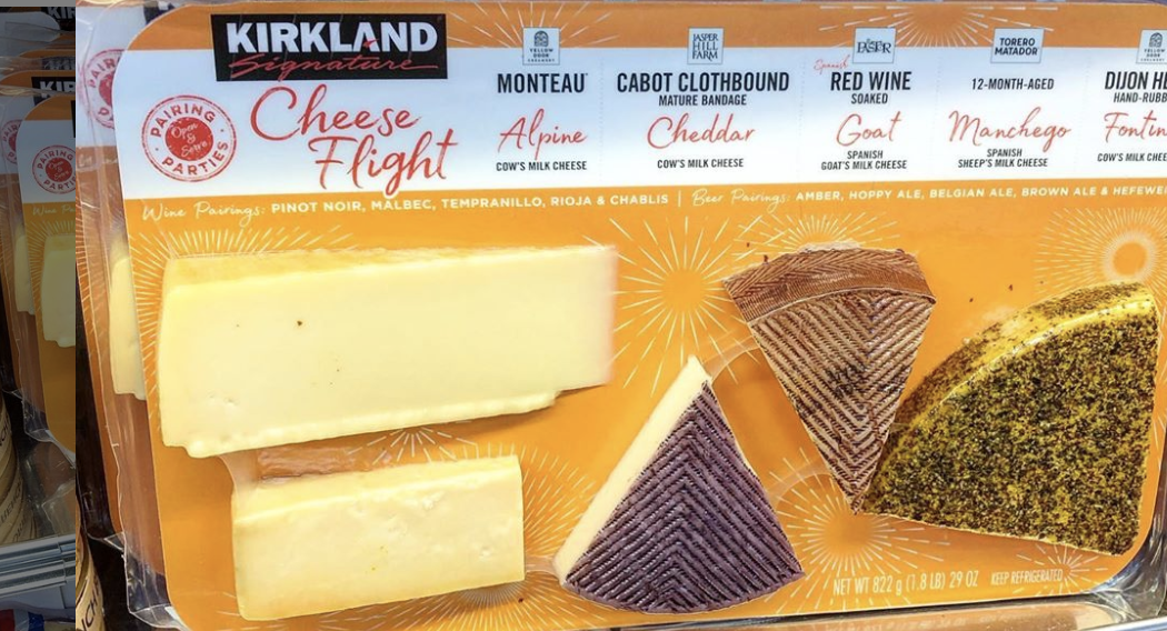Costco Is Now Selling Cheese Flights For $19 99 In Select