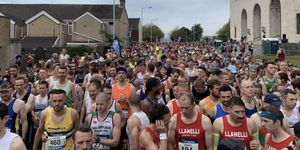 runner dies after swansea half marathon