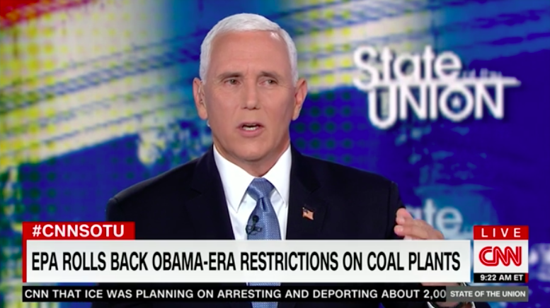 Mike Pence's Climate-Change Two-Step Shows Removing Trump Won't Fix the Republican Party's Issues