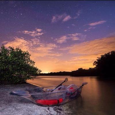 bioluminescent kayak tour florida