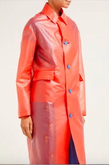 Transparent rain coat, Matches Fashion