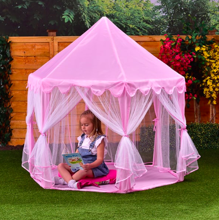 B&M's new pink princess-style gazebo is the perfect summer buy for kids
