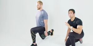 ランジ 筋トレ トレーニング 正しい 方法 動画