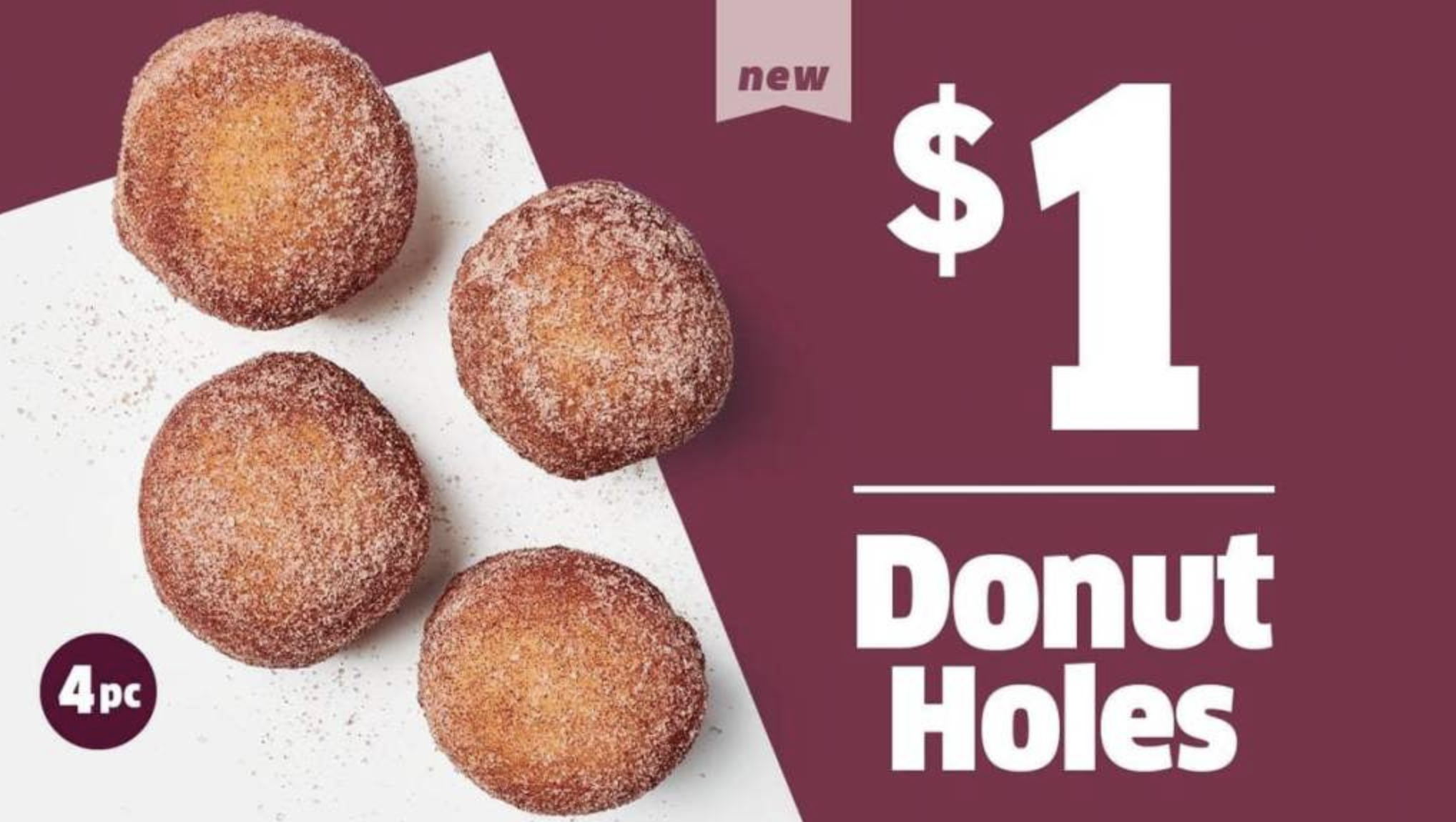 You Can Now Buy Donut Holes At Jack In The Box For $1