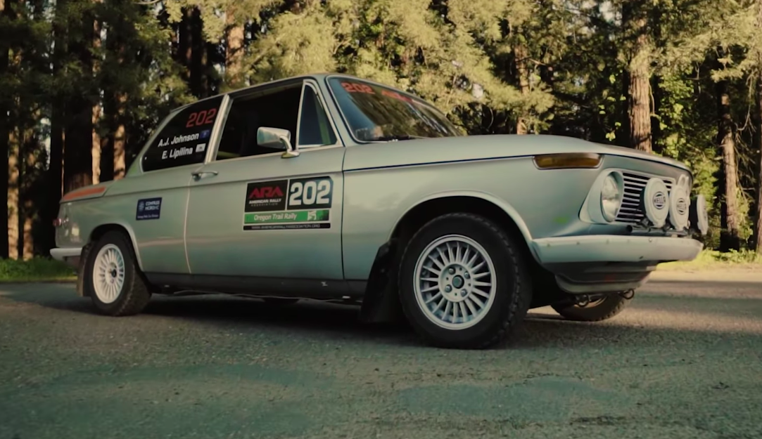 This BMW 2002 Is the Perfect DIY Rally Car