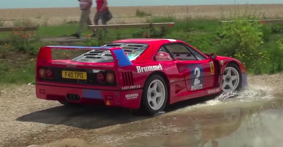 Listen to This Race-Winning Ferrari F40 GT Go Flat-Out