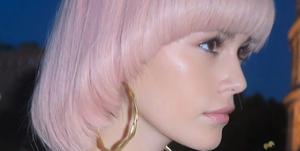 Kaia Gerber Fendi AW19 Couture Hair