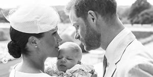 Baby Archie's christening photos are here and they're adorable