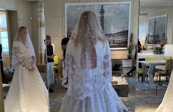 Sophie Turner's Full Wedding Dress Was Just Revealed on Instagram