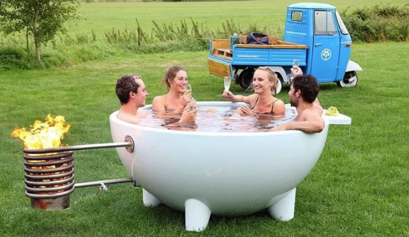 You Can Buy a Portable Hot Tub for $4,000 and People Are Freaking Out