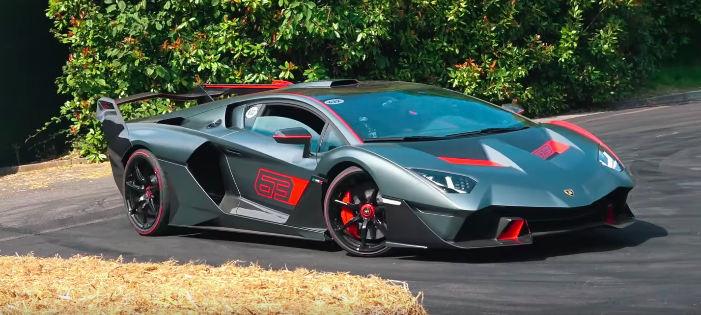 The One-Off V-12-Powered Lamborghini SC18 Sounds Incredible