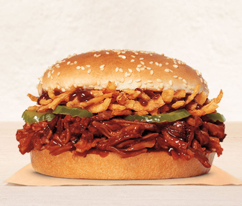 Burger King Debuted A New Pulled Pork King Sandwich That's The Size Of A Whopper