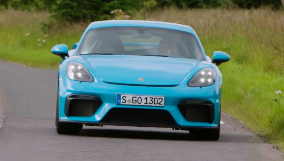 Here's Four Straight Minutes of Porsche 718 Cayman GT4 Exhaust Sound
