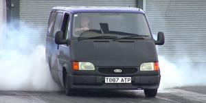 Ford Transit V8 drag racer