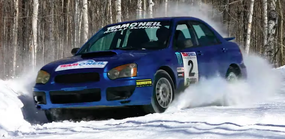 Here's a Good Demonstration of Why Everyone in the Snow Belt Loves the WRX