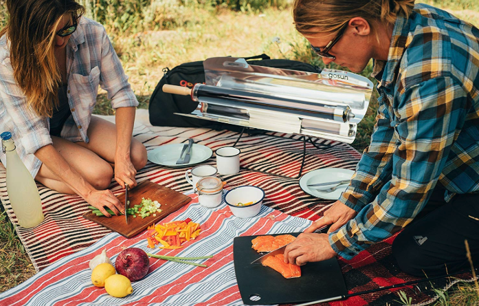 The GoSun Sport Solar-Powered Oven May Replace Your Grill This Summer
