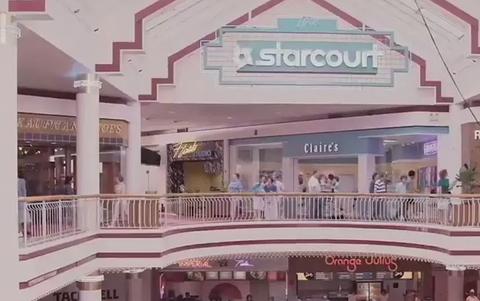 Starcourt Mall - Stranger Things Tour