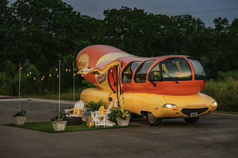 You Can Now Stay In An Oscar Mayer Wienermobile Overnight