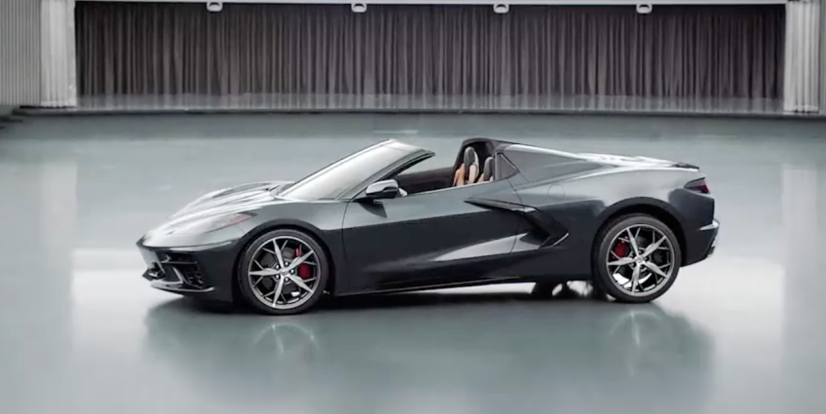 2020 Chevrolet C8 Corvette Convertible First Look