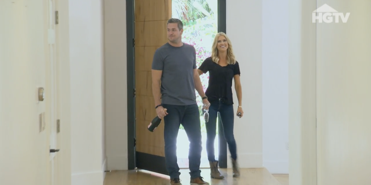 Christina Anstead And Husband Ant Get Emotional Entering