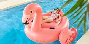 Aldi's extra large inflatable flamingo is under £20