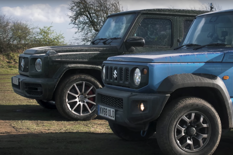 The Mighty Suzuki Jimny Can Go Anywhere a New G-Wagen Can