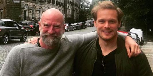 Outlander Actors Sam Heughan Amp Graham Mctavish To Launch A