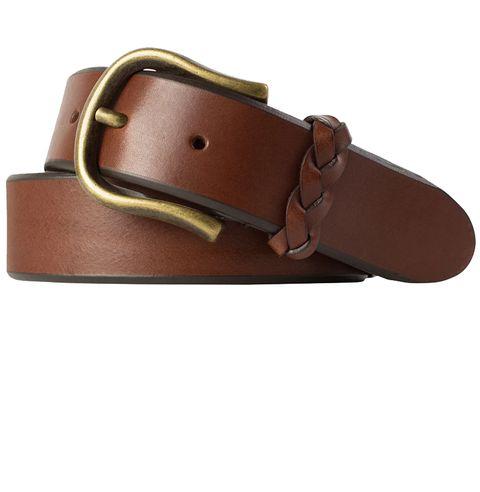 Belt, Belt buckle, Buckle, Leather, Tan, Brown, Fashion accessory, Strap,