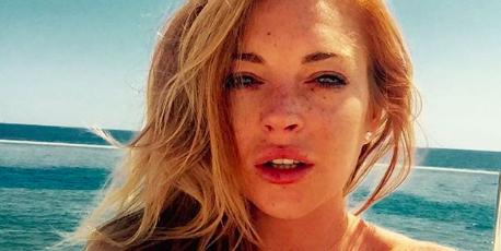 Lindsay Lohan Australian Accent Instagram Clip
