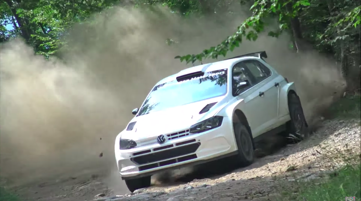 2020 Volkswagen Polo R5 Wrc Rally Car Test Drifting And Jumps