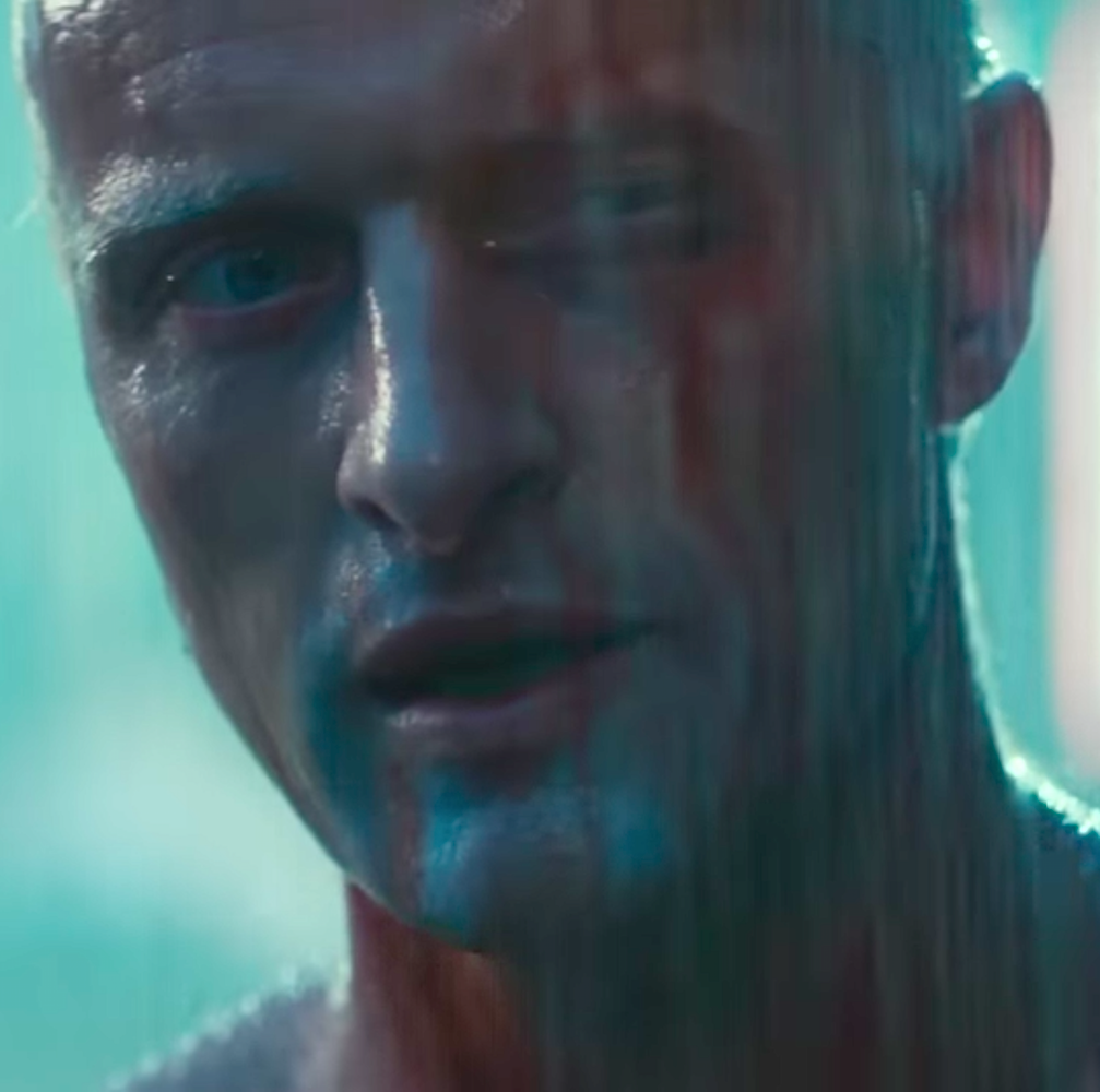 Rutger Hauer Blade Runner Tear...