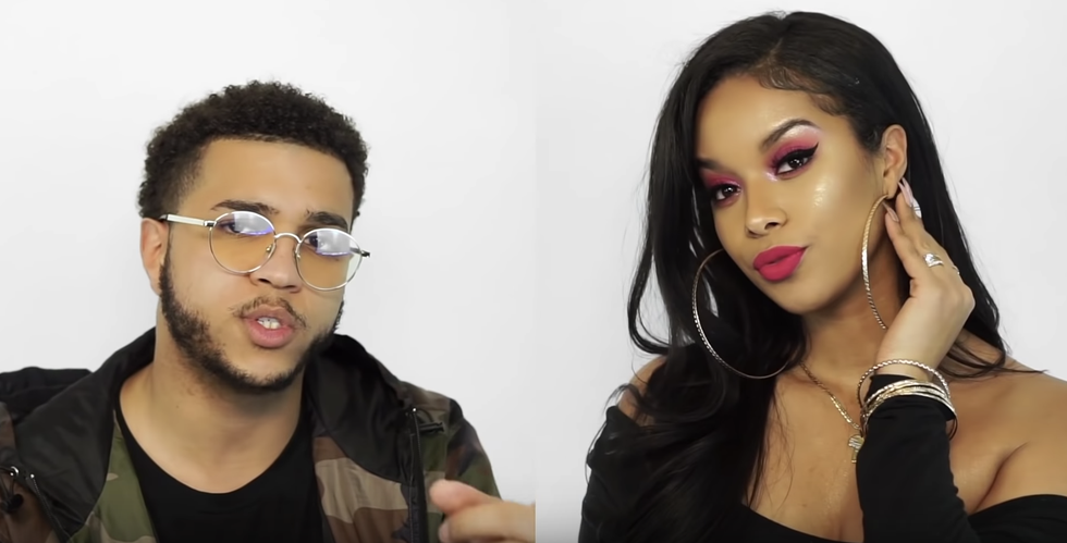 Watch This Husband Rap-Narrate His Wife's Entire Fenty Beauty Tutorial