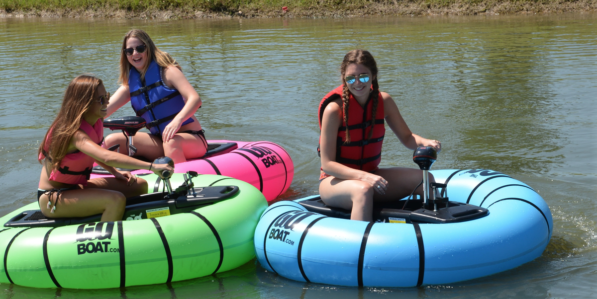 Goboat Is A Motorized Float That Lets You Play Bumper Cars