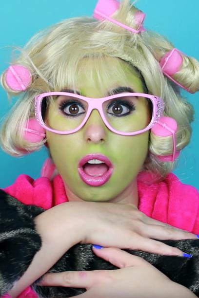 Snapchat Filter Halloween Makeup - Cat LadyFilter