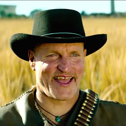Field, Grass family, Hat, Crop, Headgear, Agriculture, Cowboy hat, Smile, Farmer, Plant,