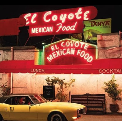 el coyote film location once upon a time in hollywood