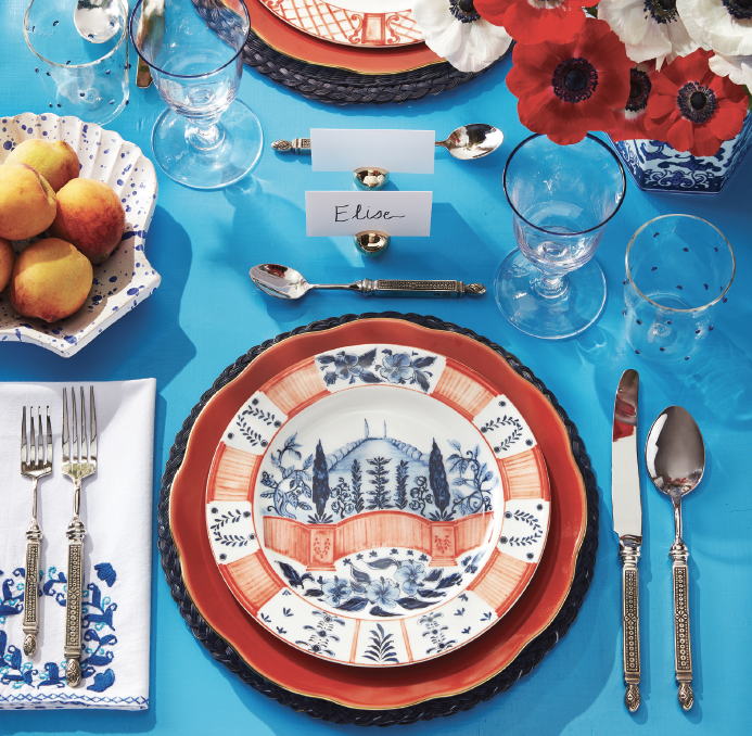 3 Late Summer Table Settings Inspired by Style Icons
