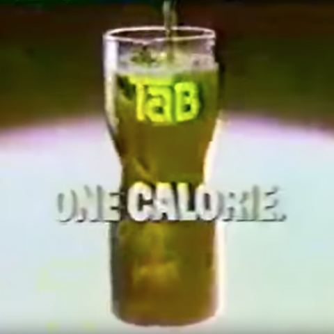 craziest diet ads: tab